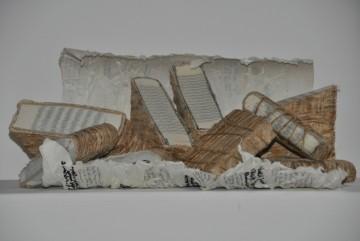 Aus-Lese, Kozo, Bindfaden, Bücher, Papier, 2010
