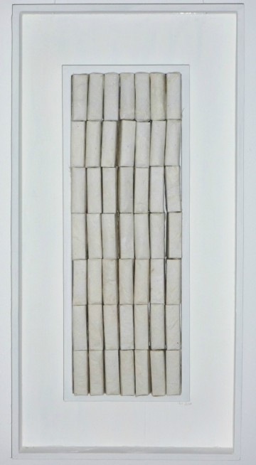 Bibliothek, 53 x 27 cm, Holz, Japanpapier aus Kozo, 2010
