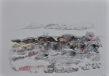 Nr. 34, 30 x 40 cm, Mischtechnik auf Papier, 2011