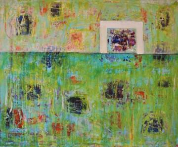 Nr. 13, 95 x 115 cm, Mischtechnik auf Leinwand, 2012