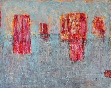 Nr. 14, 95 x 115 cm, Mischtechnik auf Leinwand, 2012