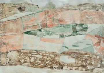 Nr. 3, 56 x 78 cm, Mischtechnik auf Papier, 2010