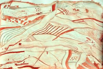 Nr. 6, 56 x 78 cm Mischtechnik auf Papier, 2010