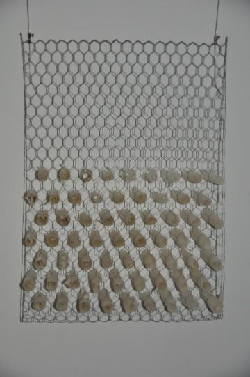 Wahl, 70 x 49x 10 cm, Japanpapier aus Kozo, Maschendraht ,2010
